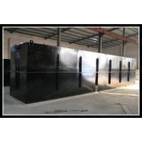 生活污水处理一体化设备医院污水处理装置碳钢材质地埋式