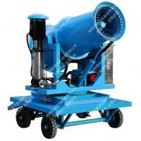 移动式高效远程射雾器 四轮牵引除尘雾炮机 风送式喷雾风机 厂家