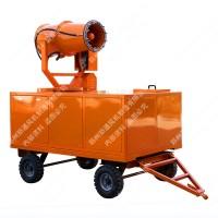 郑通 除尘喷雾机环保可移动式 拖车型全自动智能隧道养护设备厂家