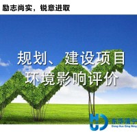 规划 建设项目目环境影响评价