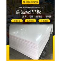 厂家直销pp板耐酸碱腐蚀环保聚丙烯PP纯板